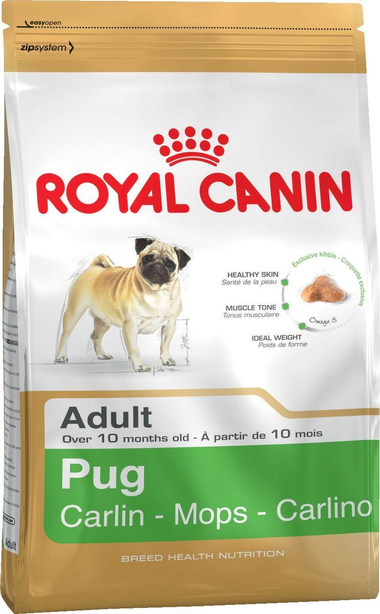 Корм сухой Royal Canin Adult Pug, для собак породы мопс от 10 месяцев, 7,5 кг55844Очаровательные небольшие собаки издавна были любимцами знати благодаря своему спокойному нраву и сильной привязанности к хозяину. При подборе корма для мопсов важно учесть специфическое строение их челюсти: чаще всего обычные крокеты им очень неудобно захватывать и разгрызать, что приводит к нарушениям пищеварительной системы и мочеиспускательного канала.Новая формула поддерживает кожу собаки в идеальном состоянии, мышечный тонус. Продукт способствует гармоничному росту при сохранении идеального веса собаки благодаря снижению уровня жиров.Крокеты имеют форму трилистника, вследствие чего собаке становится гораздо удобнее их захватывать. Состав:рис, дегидратированные белки животного происхождения (птица), кукурузная мука, животные жиры, кукуруза, пшеничная мука, кукурузная клейковина, изолят растительных белков, гидролизат белков животного происхождения, свекольный жом, минеральные вещества, растительная клетчатка, рыбий жир, соевое масло, фруктоолигосахариды, масло огуречника аптечного, экстракты зеленого чая и винограда (источники полифенолов), гидролизат из панциря ракообразных (источник глюкозамина), экстракт бархатцев прямостоячих (источник лютеина), гидролизат из хряща (источник хондроитина). Питательные добавки: витамин A: 29500 ME, витамин D3: 800 ME, железо: 52 мг, йод: 5,2 мг, марганец: 67 мг, цинк: 201 мг, сeлeн: 0,11 мг.Содержание питательных веществ: белки: 25 % - жиры: 16 % - минеральные вещества: 5,6 % - клетчатка пищевая: 1,9 % - В 1 кг: жирные кислоты Омега 3: 6,5 г, в том числе жирные кислоты EPA & DHA: 3 г - медь: 15 мг.Товар сертифицирован.
