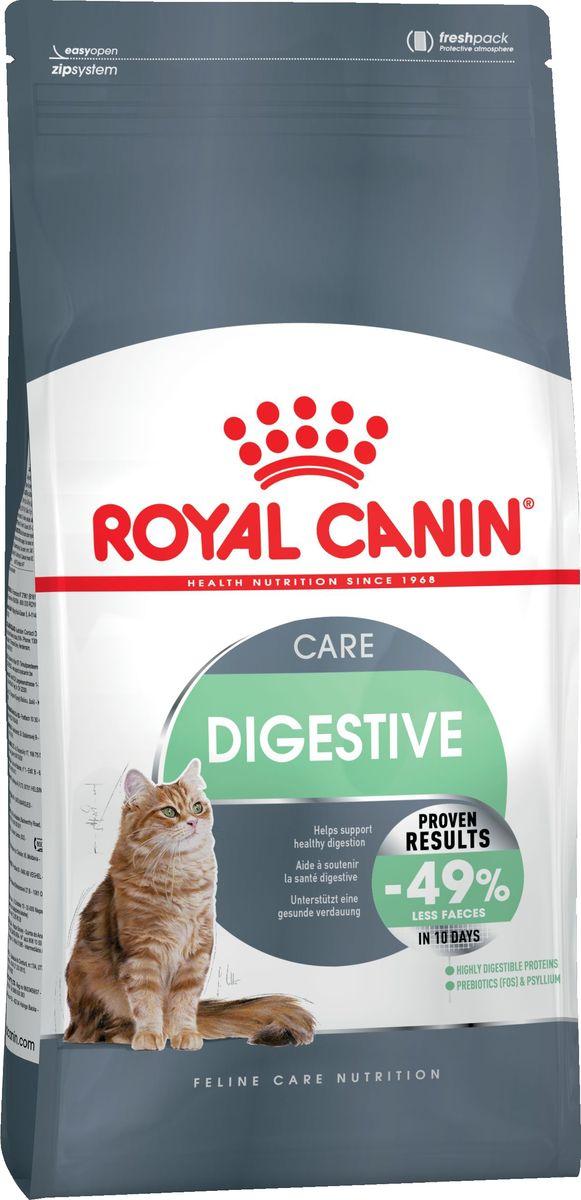 Корм сухой Royal Canin Digestive Care, для кошек с расстройствами пищеварительной системы, 2 кг корм сухой royal canin mini light weight care для взрослых собак склонных к ожирению 2 кг