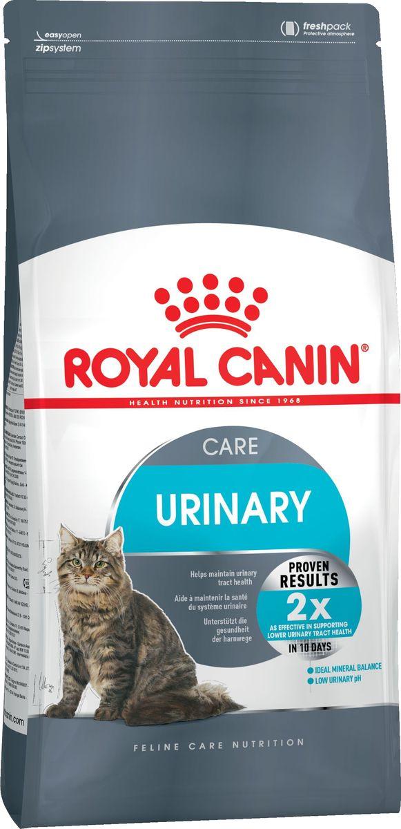 Корм сухой Royal Canin Urinari Care, для кошек при лечении и профилактике мочекаменной болезни, 2 кг корм сухой royal canin mini light weight care для взрослых собак склонных к ожирению 2 кг