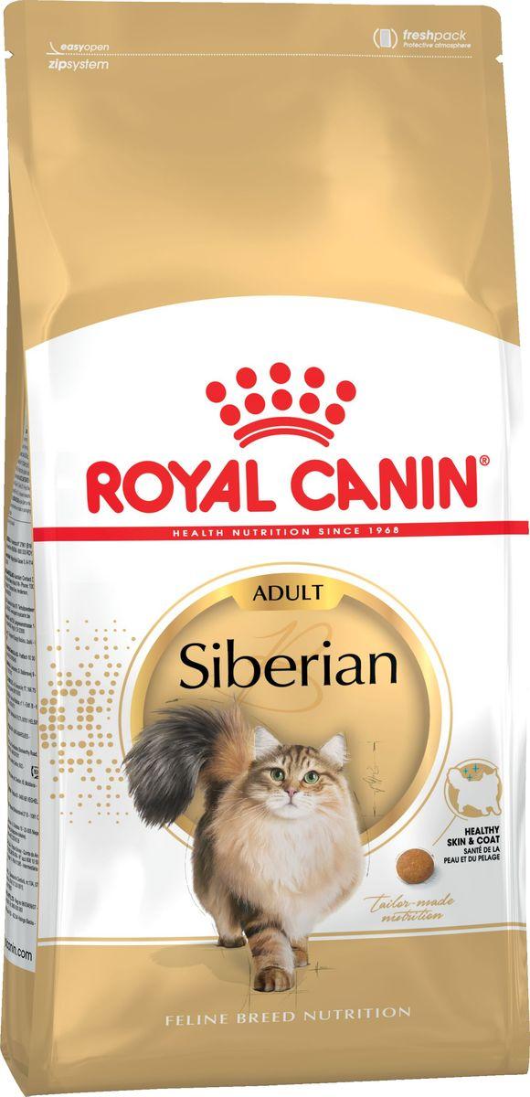 Корм сухой Royal Canin Siberian Adult, для взрослых сибирских кошек старше 12 месяцев, 2 кг65143Корм Royal Canin Siberian Adult - для взрослых сибирских кошек старше 12 месяцев. Состав: дегидратированные белки животного происхождения (птица), изолят растительных белков*, рис,мука из зерновых культур, животные жиры, растительная клетчатка, гидролизат белков животного происхождения (вкусоароматические добавки), соевое масло, минеральные вещества, рыбий жир, дрожжи и побочные продукты брожения, фруктоолигосахариды, оболочка и семена подорожника, масло огуречника аптечного, экстракт бархатцев прямостоячих (источник лютеина), гидролизат из панциря ракообразных (источник глюкозамина), гидролизат из хряща (источник хондроитина). Пищевая ценость на 100 г: белки: 32 % - жиры: 20 % - минеральные вещества: 6,6 % - клетчатка пищевая:5,3 % - В 1 кг: жирные кислоты Омега 6: 39 г - жирные кислоты Омега 3: 8,9 г, в том числе жирные кислоты EPA/DHA: 4 г. Товар сертифицирован.
