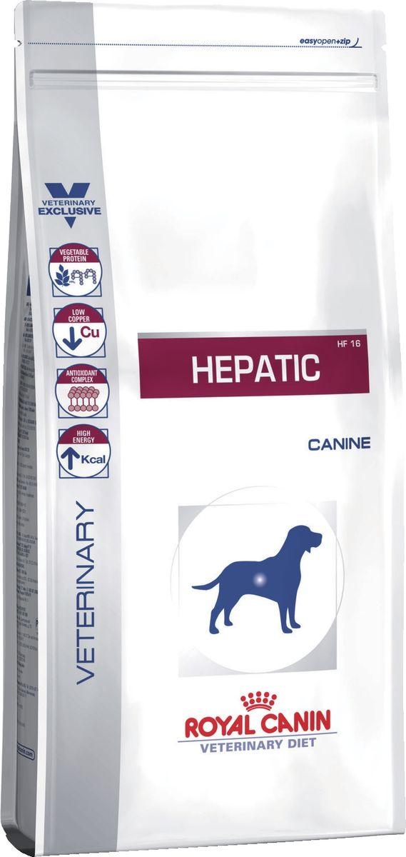 Корм сухой Royal Canin Vet Hepatic HF 16, для собак при заболеваниях печени, пироплазмозе, 6 кг65989ИНГРЕДИЕНТЫ:рис, кукуруза, животные жиры, изолят белка сои*, гидролизат белков животного происхождения, свекольный жом, минеральные вещества, соевое масло, растительная клетчатка, рыбий жир, фруктоолигосахариды, экстракт бархатцев прямостоячих (источник лютеина).ДОБАВКИ (В 1 КГ):Питательные добавки: Витамин A: 11600 ME, Витамин D3: 1000 ME, Железо: 115 мг, Йод: 4,3 мг, Марганец: 53 мг, Цинк: 212 мг, Ceлeн: 0,38 мг - Консервант: сорбат калия - Антиокислители: пропилгаллат, БГА.СОДЕРЖАНИЕ ПИТАТЕЛЬНЫХ ВЕЩЕСТВ:Белки: 16 % - Жиры: 16 % - Минеральные вещества: 4,7 % - Клетчатка пищевая: 2 % - Основные жирные кислоты: 43 г/кг - Медь (всего): 5 мг/кг - Натрий: 0,2 % - Калий: 0,9 % - Усвояемая энергия: 4043 ккал/кг.*L.I.P.: протеины, отобранные по принципу оптимальной усвояемости.