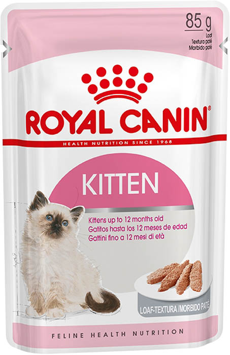 Консервы Royal Canin Kitten Instinctive, паштет для котят до 12 месяцев, 85 г