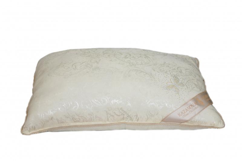 Подушка KAZANOV.A. Luxury Мulberry Silk, цвет: слоновая кость, 50 х 70 см одеяло kazanov a luxury мulberry silk цвет слоновая кость 200 х 220 см