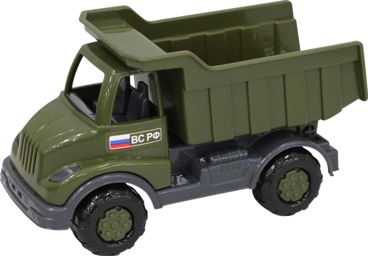 Полесье Военный самосвал Кнопик машинка детская полесье полесье автомобиль самосвал супергигант