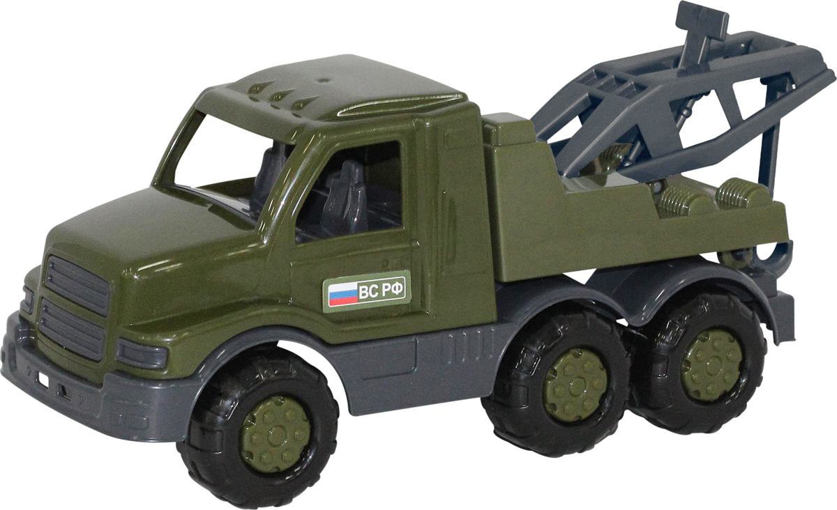 Полесье Военный эвакуатор Гоша купить гоша интерактивная игрушка
