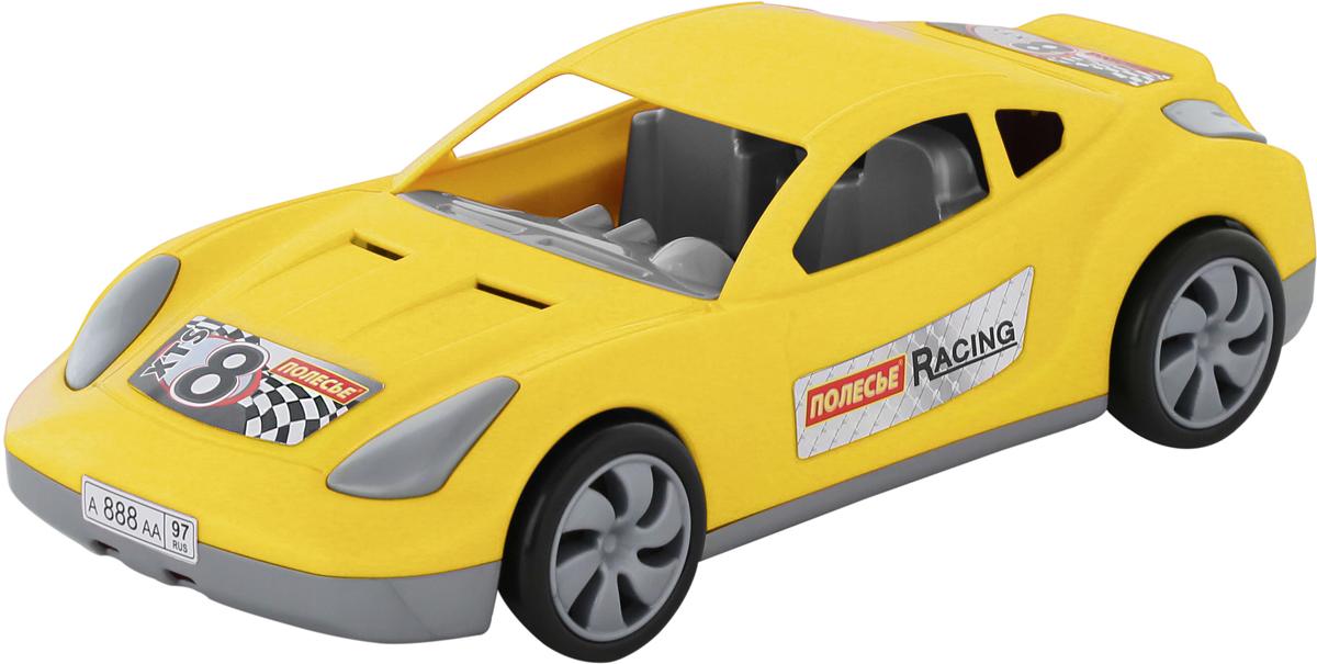 Полесье Гоночный автомобиль Торнадо цвет желтый полесье автомобиль дпс волгоград