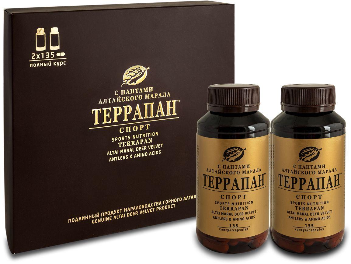 Террапан Спорт с пантами марала, капс. 350 мг - Аптека