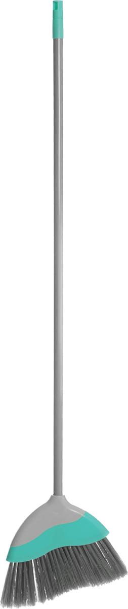 Еврошвабра You'll love с фигурной насадкой, со съемной ручкой, цвет: серый, бирюзовый еврошвабра home queen со съемной ручкой цвет серый