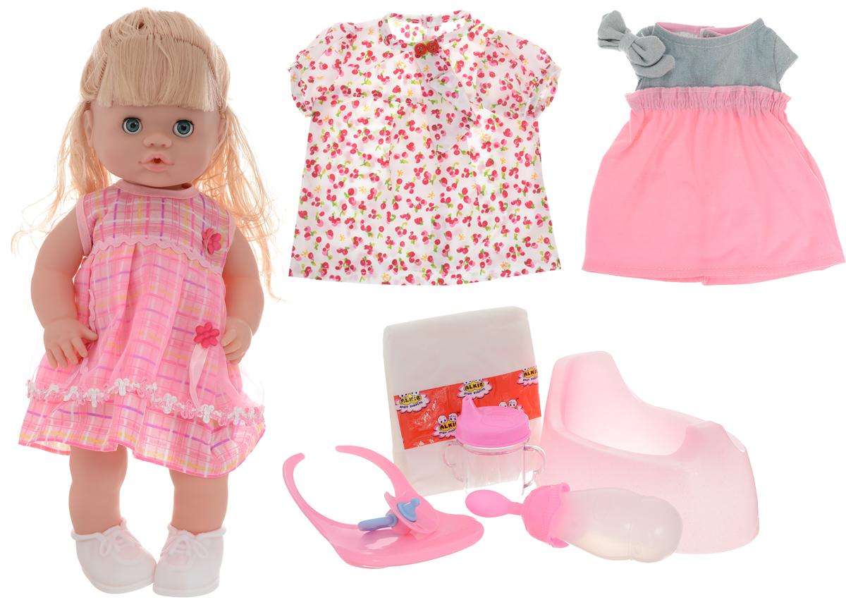 Shantou Gepai Кукла озвученная Baby Toby кукла shantou gepai лиза с аксессуарами 32 см в ассортименте