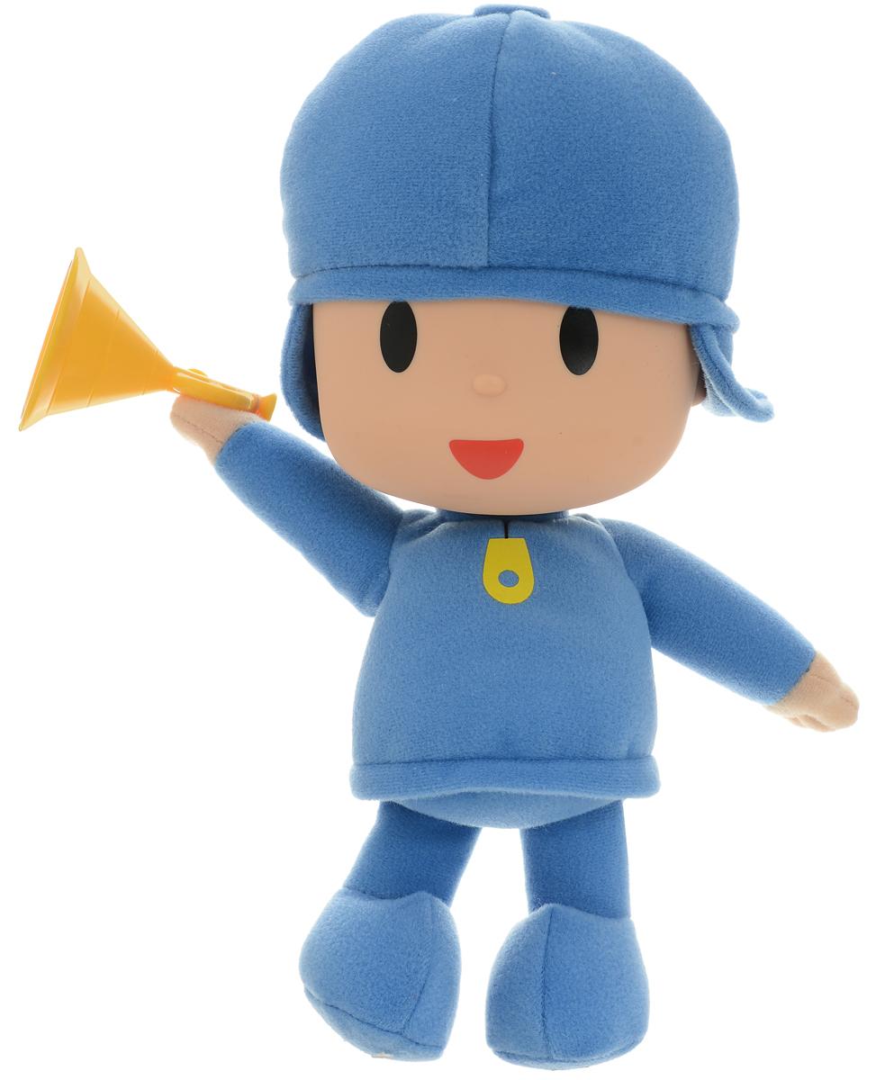 Pocoyo Мягкая игрушка озвученная Pocoyo 25 см куклы и одежда для кукол весна озвученная кукла саша 1 42 см