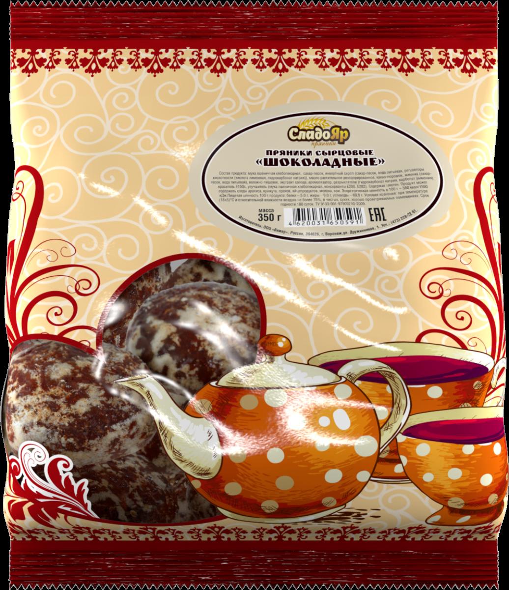Вижер пряники шоколадные, 350 г4620031650591Один из наиболее популярных видов пряников. Кондитерская фабрика «Вижер» производит их строго в соответствии с ГОСТом.