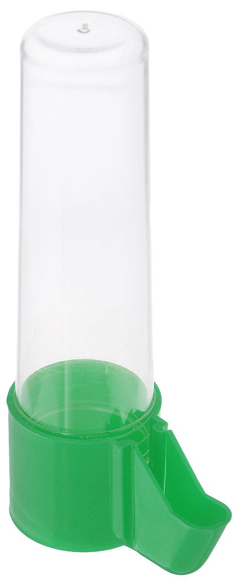 Поилка для птиц Каскад Бриллиант, с носиком, большая, цвет: зеленый33300513_зеленыйПоилка для птиц Каскад Бриллиант понравится вашему питомцу. Изделие выполнено из высококачественного пластика.Воду невозможно пролить, благодаря надежной конструкции.Высота поилки: 13,5 см.