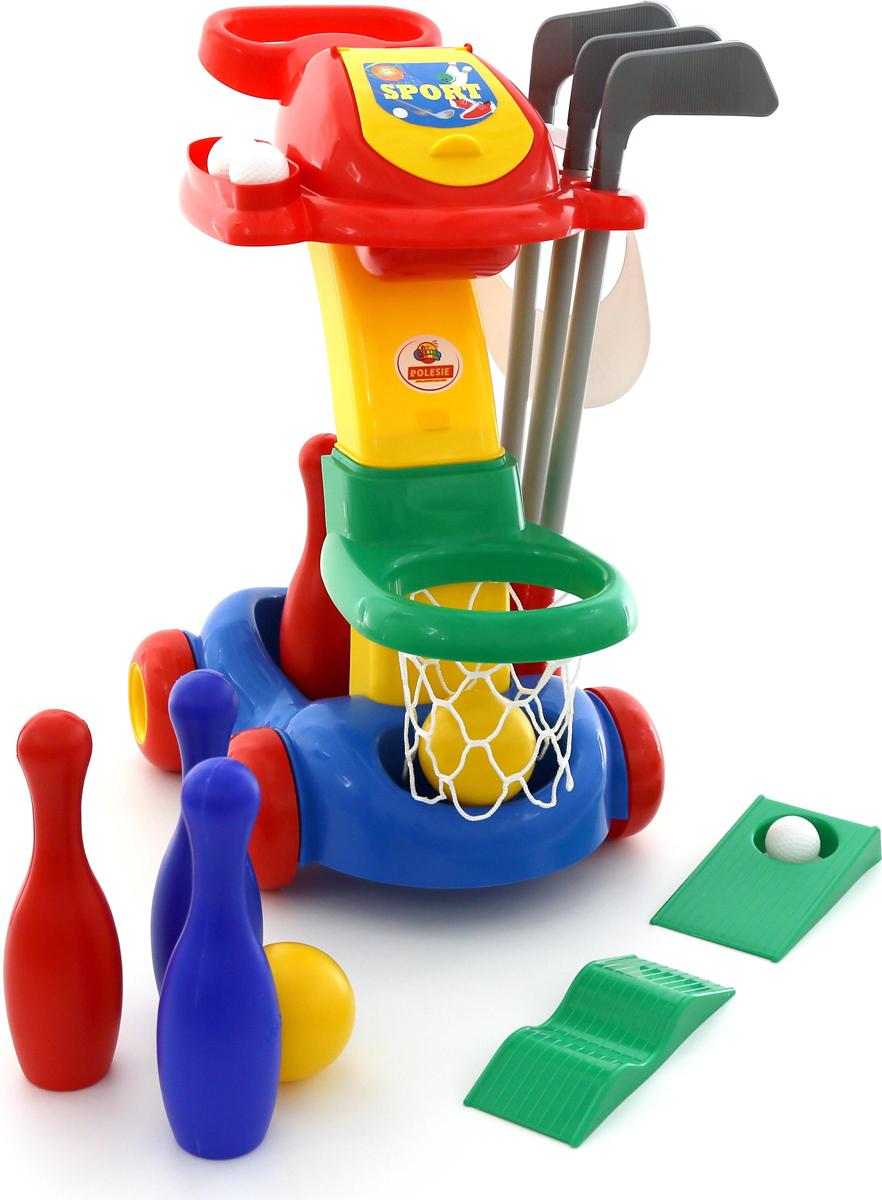 Полесье Игровой набор №1 Баскетбол Гольф Кегли полесье полесье игровой набор садовый