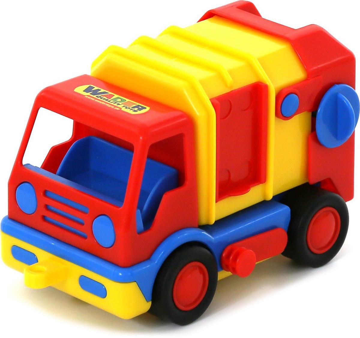 грузовики полесье игрушки Полесье Коммунальная спецмашина Базик