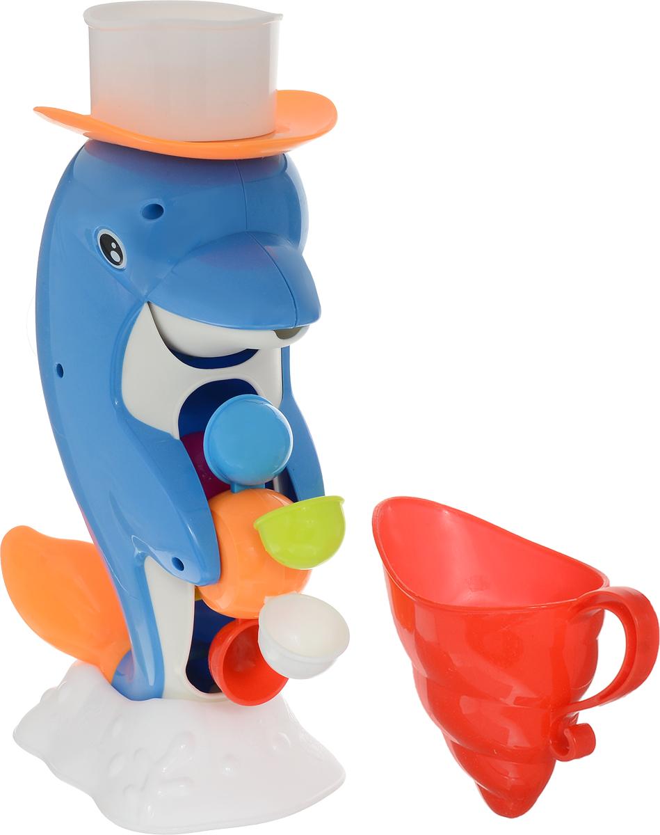 Shantou Gepai Игрушка для ванной Водная мельница Дельфин shantou набор дельфин и морской конек 3302b gepai