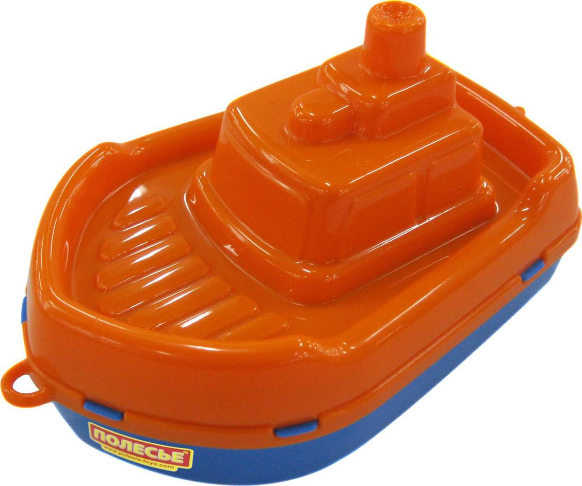 Полесье Кораблик Буксир цвет оранжевый