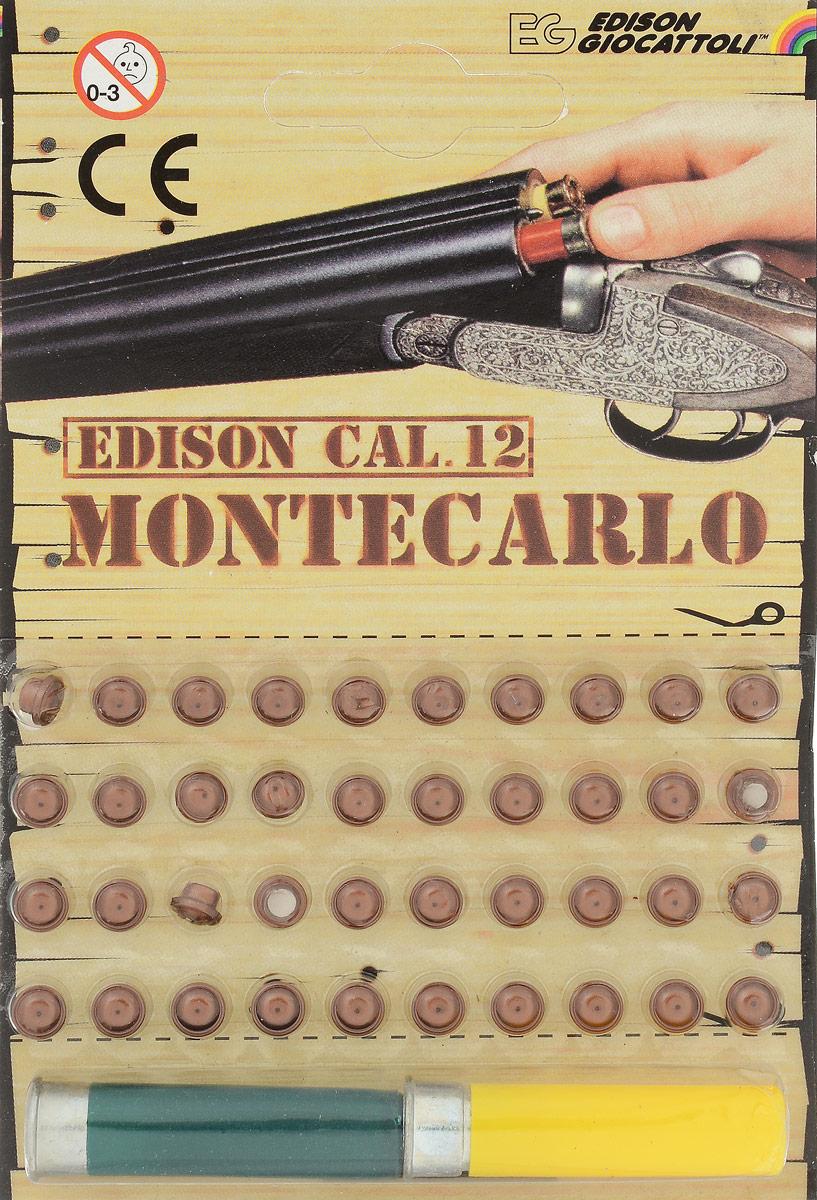 Edison Пистоны Montecarlo с двумя гильзами цвет желтый зеленый 40 шт