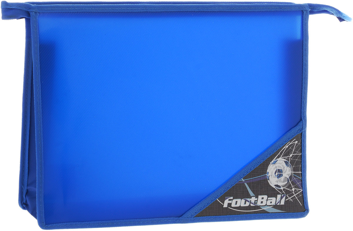 Brauberg Папка для тетрадей Футбол цвет синий brauberg папка для тетрадей футбол