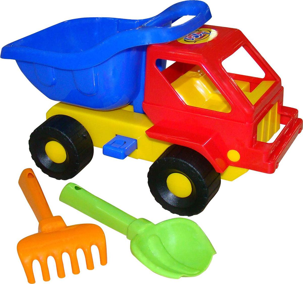 Полесье Набор игрушек для песочницы №43 Кузя-2 набор для песочницы полесье 41 кузя 2