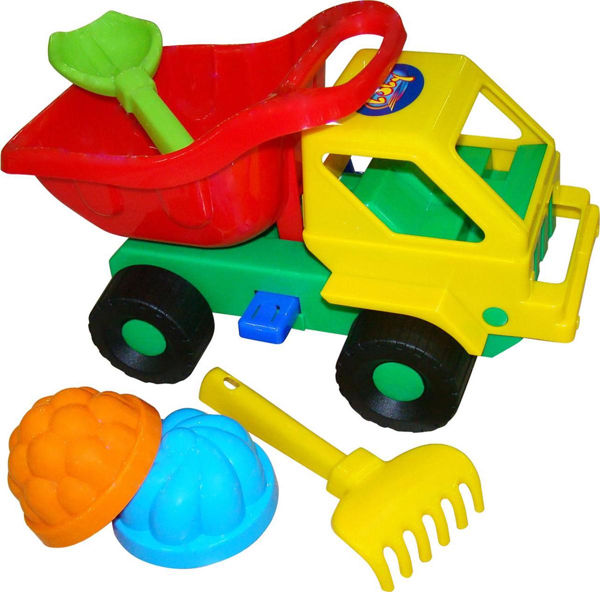 Полесье Набор игрушек для песочницы №48 Кузя-2 набор для песочницы полесье 41 кузя 2