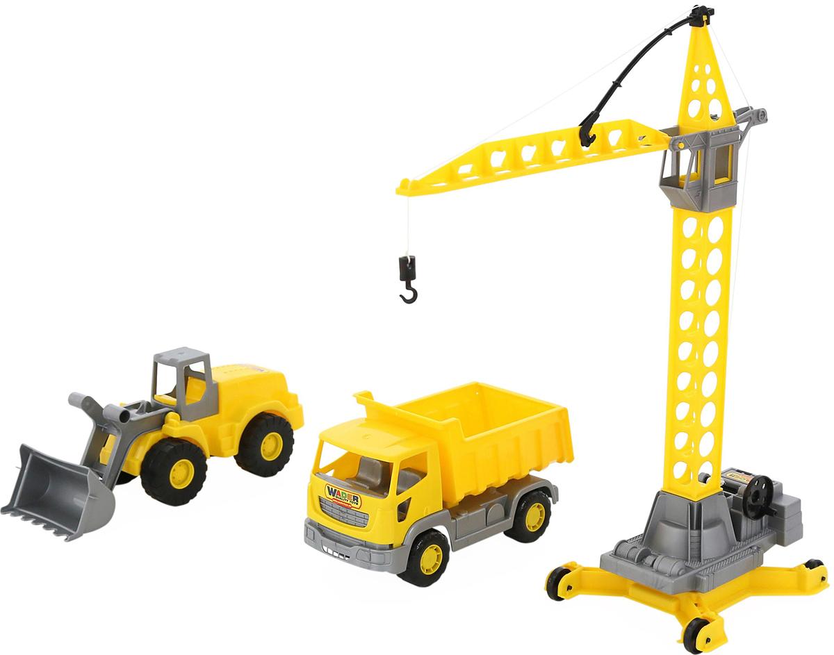 Полесье Набор строительной техники Агат полесье набор для песочницы 406