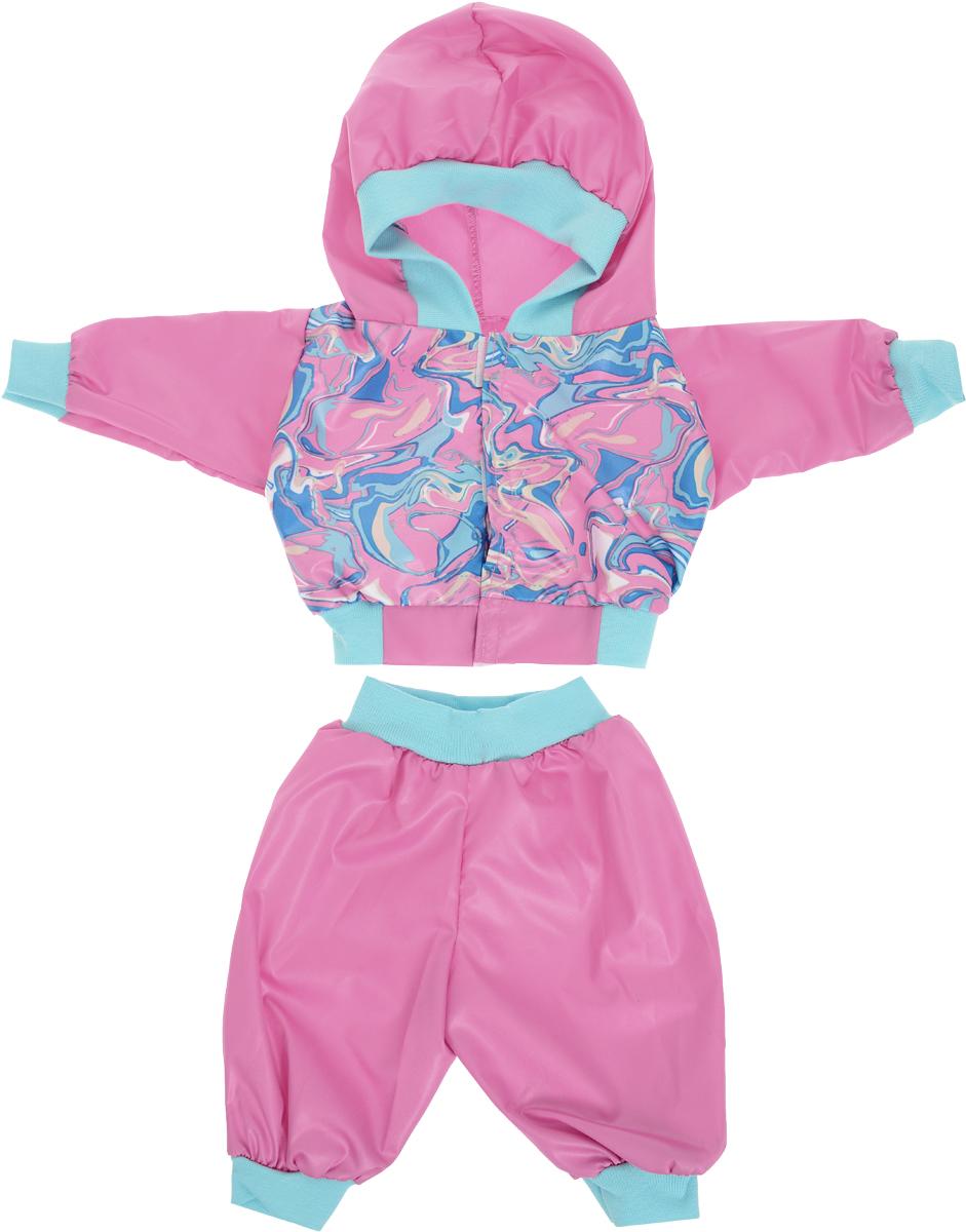 Mary Poppins Одежда для кукол Спортивный костюм цвет розовый куклы и одежда для кукол bayer малышка первый поцелуй 42 см