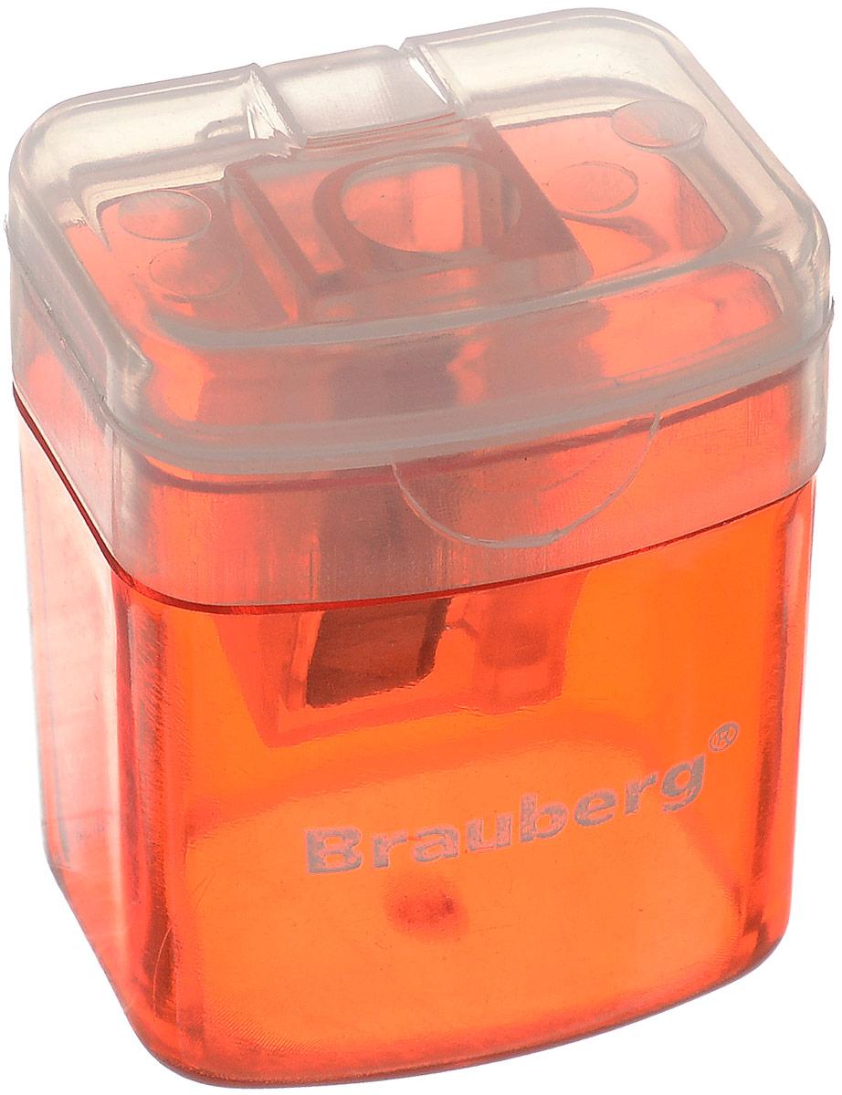 Brauberg Точилка OfficeBox с контейнером цвет красный222494_красныйТочилка Brauberg OfficeBox выполнена с контейнером. Качественное стальное лезвие обеспечивает лёгкое равномерное затачивание карандашей. Контейнер для стружки изготовлен из тонированного цветного пластика.