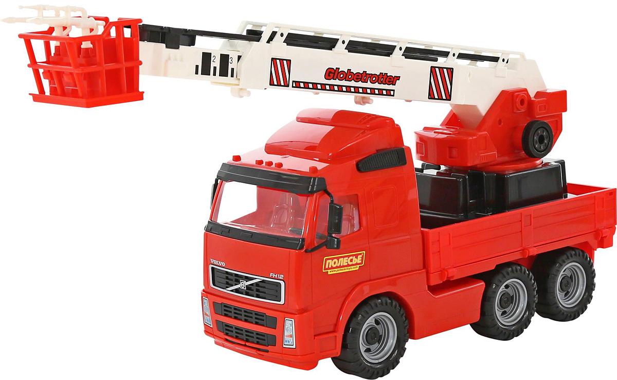 Полесье Пожарный автомобиль Volvo 58379 игрушки для ванны полесье паром балтик автомобиль мини 4 шт