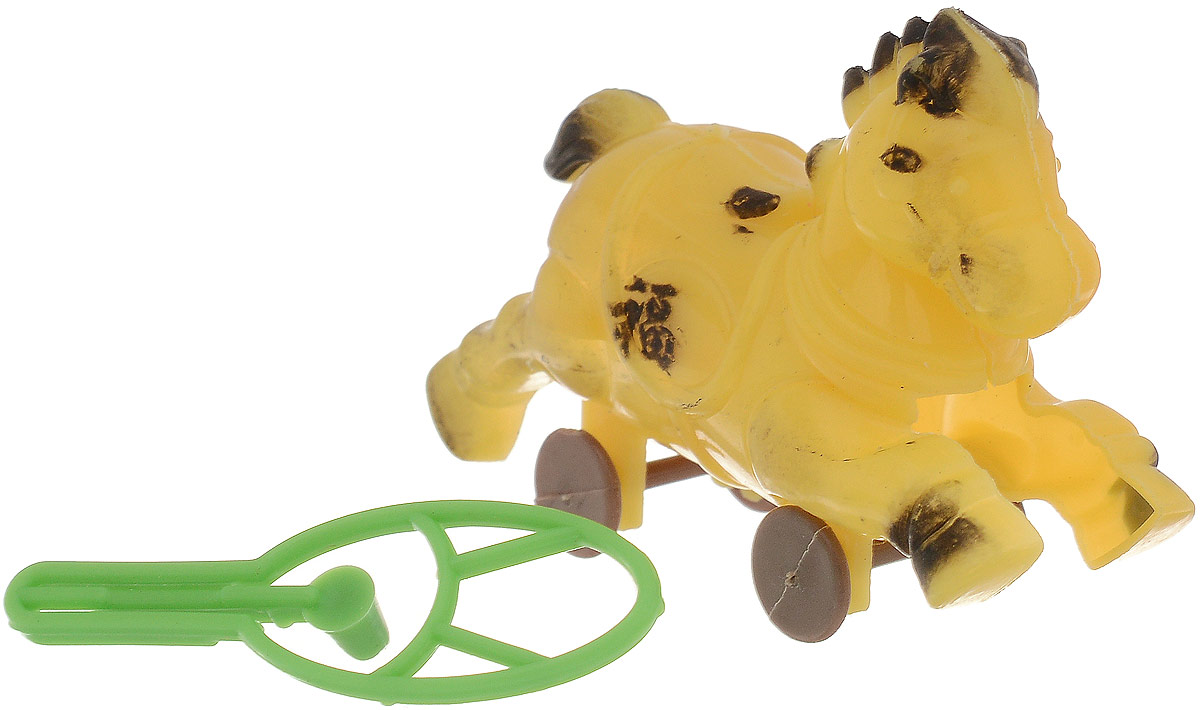 Sima-land Стрелялка Лошадь цвет желтый