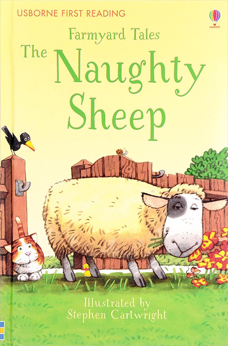 Farmyard Tales The Naughty Sheep кабошон родонит 15 22 22 30 мм
