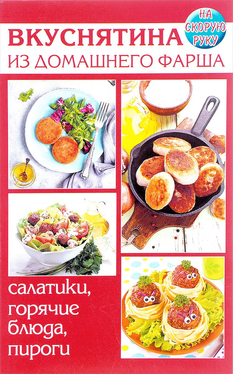 Е. Руфанова Вкуснятина из домашнего фарша. Салатики, горячие блюда, пироги. На скорую руку блюда из фарша
