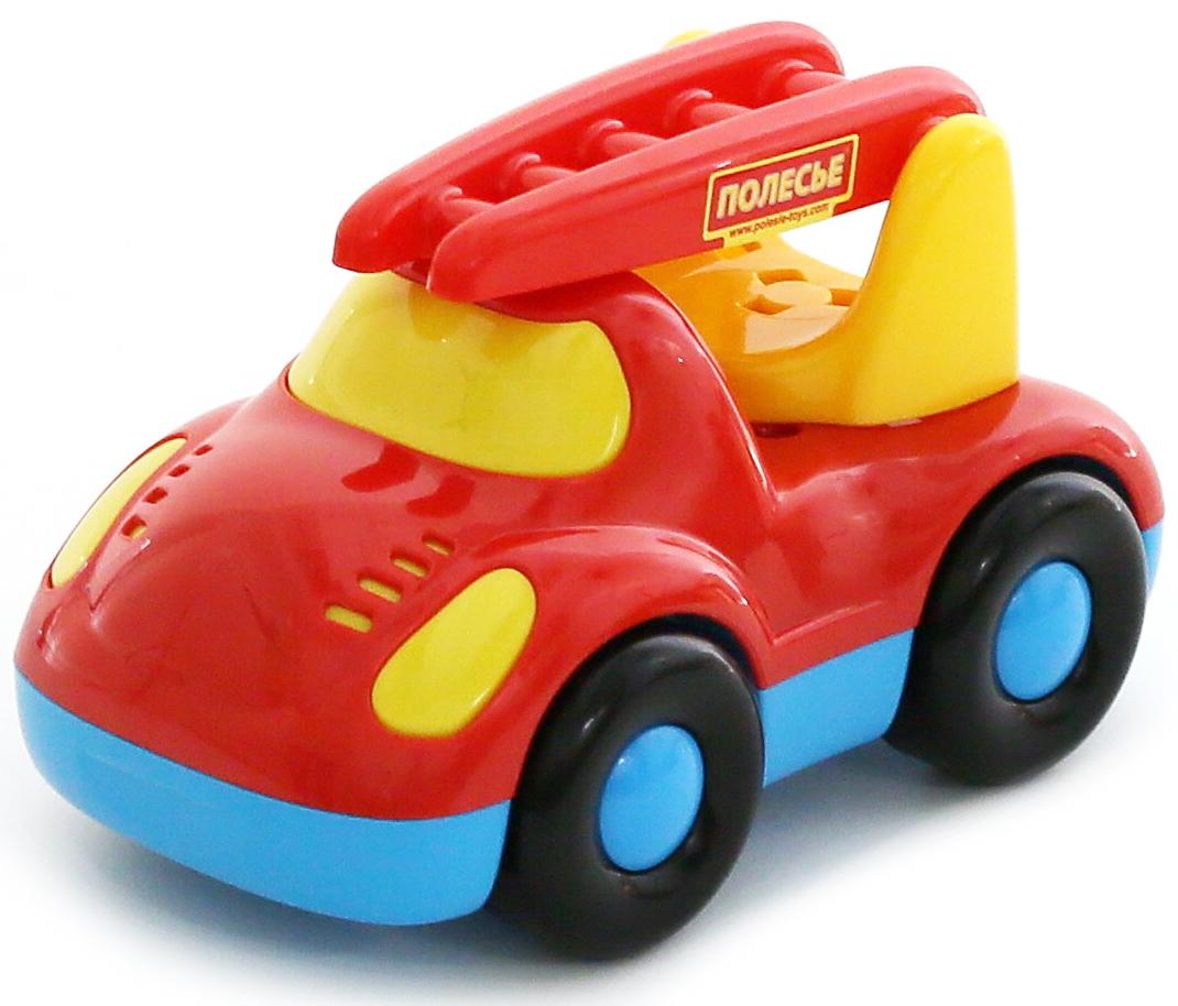 Полесье Пожарный автомобиль Дружок автомобиль пожарный полесье volvo в сеточке 8787