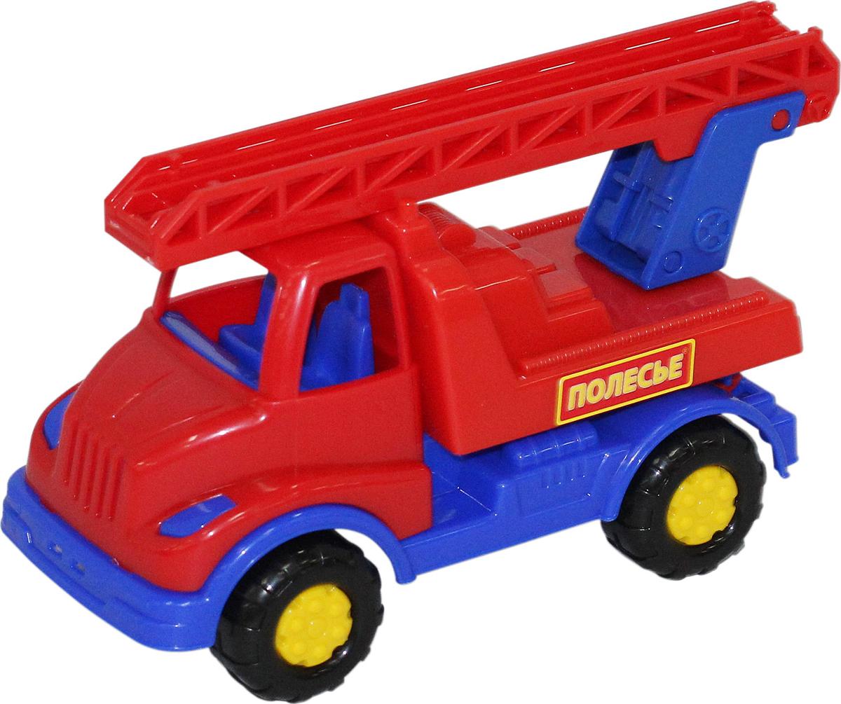 Полесье Пожарный автомобиль Кнопик автомобиль пожарный полесье volvo в сеточке 8787