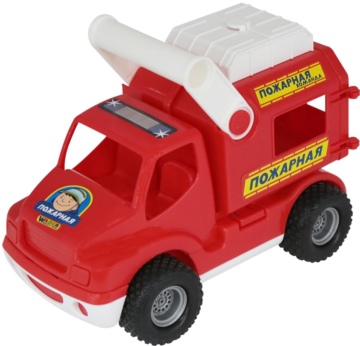 Полесье Пожарный автомобиль КонсТрак полесье коммунальный автомобиль констрак