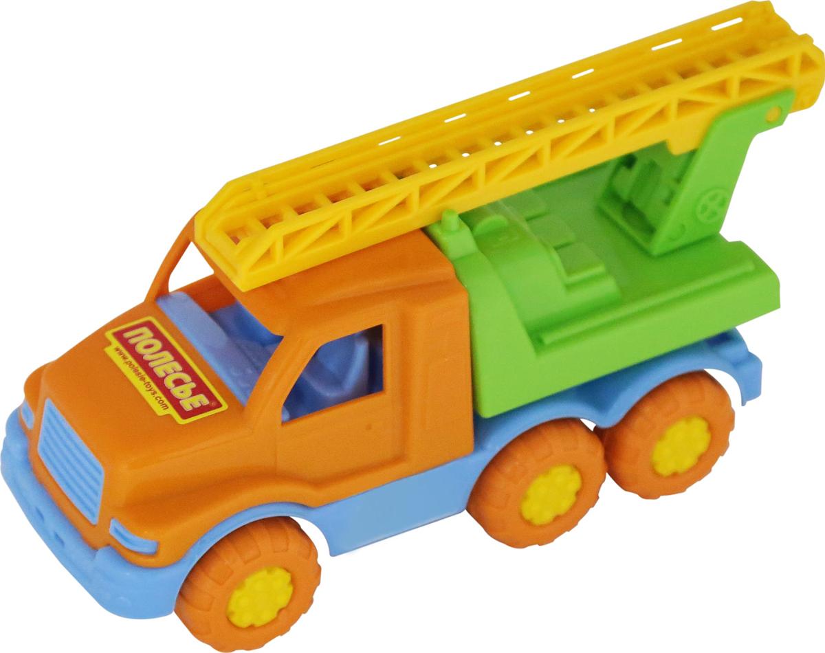Полесье Пожарный автомобиль Максик автомобиль пожарный полесье volvo в сеточке 8787