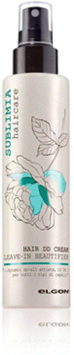 Elgon Sublimia Крем интенсивный для всех типов волос 10 в 1, 100 мл1067010100Особенный DD-крем с эффектом 10 в 1. Несмываемая маска для эффективного ухода за волосами по всей длине. Подходит для всех типов волос, особенно поврежденных, пористых, сухих, окрашенных, непослушных и жестких. Постоянное использование DD-крема на основе растительных компонентов (кератиновые аминокислоты, пантенол, протеины шелка, витамин Е, экстракт водорослей озера Кламат, экстракт аспалатус линеарис) дисциплинирует волосы, предупреждает изнашиваемость кератиновой структуры длинных волос, облегчает укладку, защищает волосы от высоких температур, увлажняет, усиливает блеск волос, защищает от УФ-лучей, распутывает, восстанавливает волосы, увеличивает стойкость цвета.
