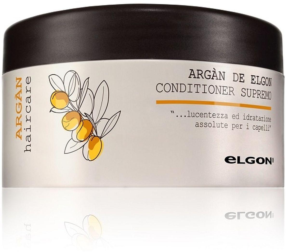 Elgon Argan Кондиционер для волос Argan Conditioner Supremo, 250 мл1079010250Активно увлажняет и защищает волосы от негативных факторов благодаря содержанию арганового масла. Предупреждает сухость волос, за счет восстановления гидролипидного баланса. Усиливает блеск, делая волосы более гладкими и ухоженными, защищает волосы от негативного воздействия УФ лучей. Ухаживает и защищает цвет окрашенных волос, делает их шелковистыми, мягкими, более эластичными и упругими. Облегчает расчесывание. Уменьшает электризацию и эффект «пушистости» волос без утяжеления.