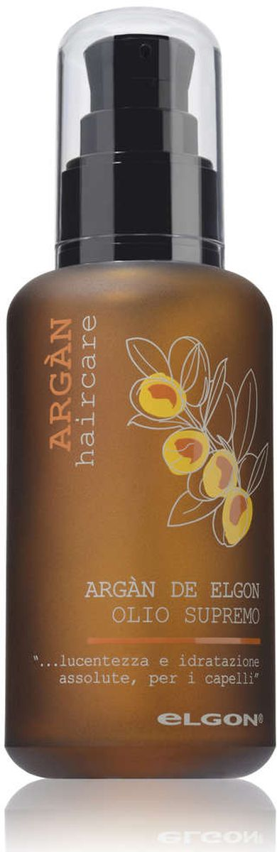 Elgon Argan Масло аргановое Argan Olio Supremo, 100 мл масло kativa morocco argan oil nuspa масло