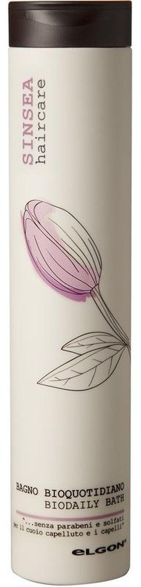 Elgon Sinsea Шампунь для ежедневного применения Biodaily Bath, 250 мл718020250Шампунь для нормальных волос ежедневного использования на основе натуральных ПАВ. Масла дикой розы, персика, макадамии, жожоба, риса, пшеницы, оливы в сочетании с запатентованным комплексом Redoxina® ухаживают за волосами и кожей во время очищения, сохраняя естественную мягкость и эластичность.