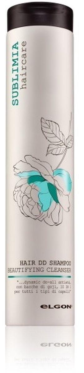 Elgon Sublimia Шампунь питательный для всех типов волос 10 в 1, 250 мл767010250Инновационная формула шампуня anti-age не содержит сульфатов. Уникальное сочетание масел ши, японской камелии, экстрактов аспалатуса и ягод годжи и полипептидный комплекс обеспечивают непревзойденное питательное, увлажняющее и восстанавливающее действие. Волосы приобретают максимальный блеск, гладкость и шелковистость, становятся более эластичными, упругими и послушными. Шампунь выводит токсины и свободные радикалы с поверхности кожи и волос. Подходит для окрашенных волос.
