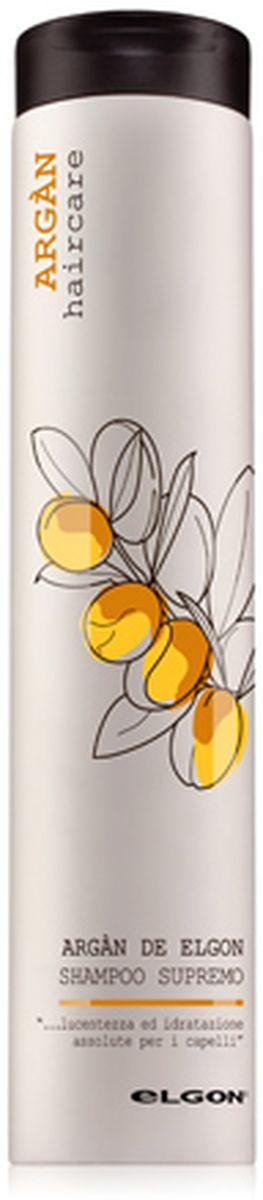 Elgon Argan Шампунь для волос Argan Shampoo Supremo, 250 мл779010250Благодаря содержанию арганового масла активно увлажняет и защищает волосы от воздействия негативных факторов. Предупреждает сухость волос за счет восстановления гидролипидного баланса. Усиливает блеск, делая волосы более гладкими и ухоженными, защищает их от негативного воздействия УФ-лучей. Без парабенов.