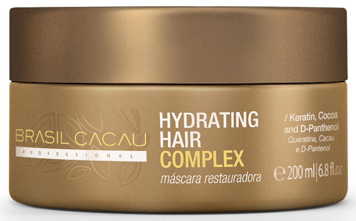 Brasil Cacau Увлажняющий комплекс-домашний уход, 200 млPA0035Увлажняющий комплекс создаст дополнительный защитный слой для Ваших волос, сохраняя результат проведенной процедуры.