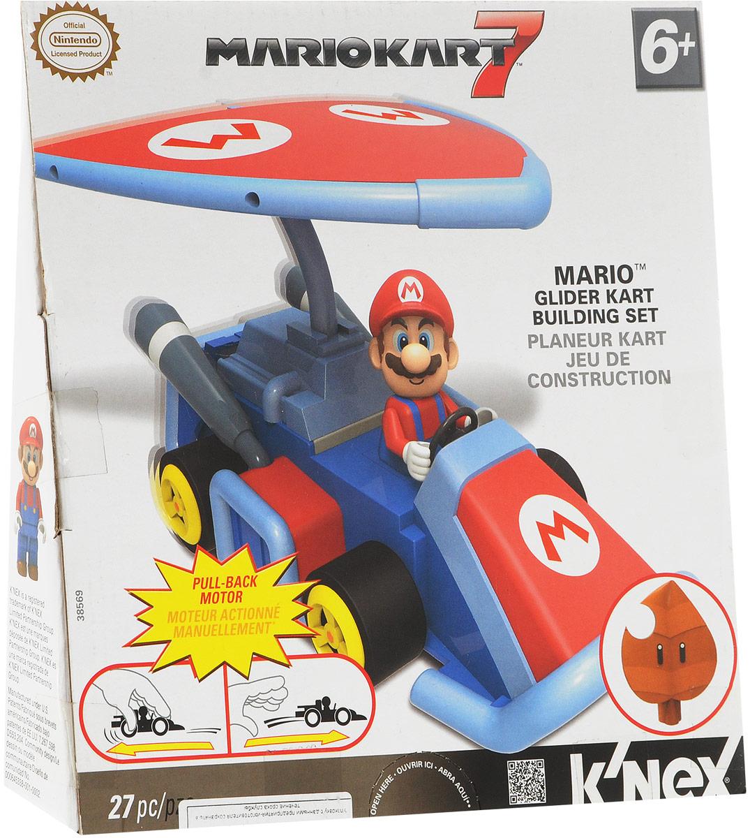 K'nex Конструктор Автомобиль Mario инерционный работы марио тестино