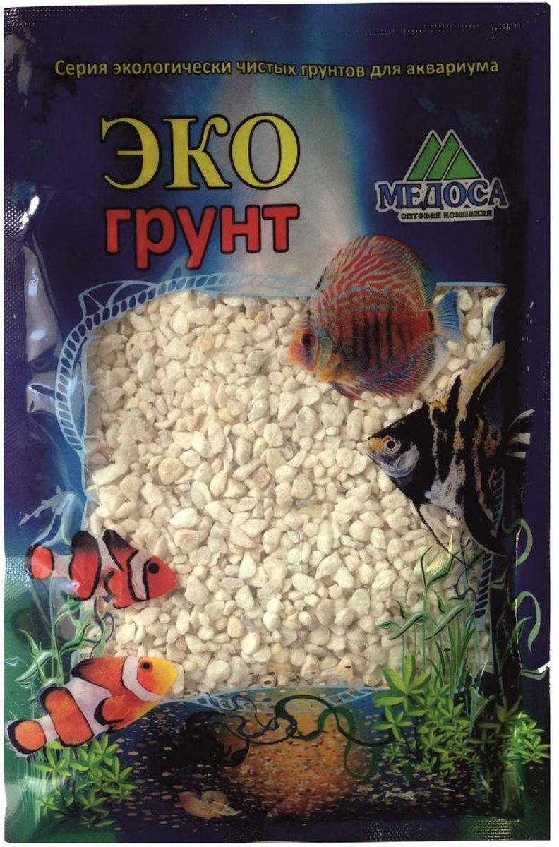 Грунт для аквариума ЭКОгрунт, мраморная крошка, 2-5 мм, 1 кг210010Грунт ЭКОгрунт изготовлен из экологически чистого сырья, откалиброван, промыт и подвергнут термической обработке. Область применения - морскиеи пресноводные аквариумы, полюдариумы, террариумы.