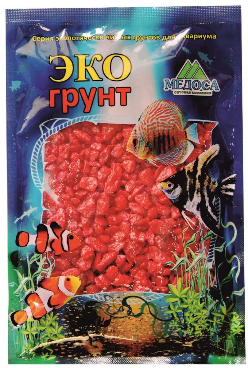 Грунт для аквариума ЭКОгрунт, мраморная крошка, цвет: красный, 5-10 мм, 1 кг. 270014270014Грунт ЭКОгрунт изготовлен из экологически чистого сырья, откалиброван, промыт и подвергнут термической обработке. Область применения - морскиеи пресноводные аквариумы, полюдариумы, террариумы.