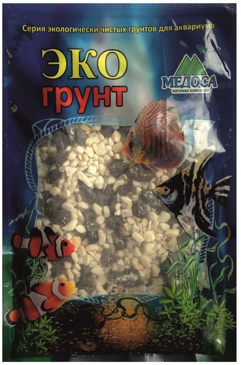 Грунт для аквариума ЭКОгрунт, мраморная крошка, цвет: черный, белый, 2-5 мм, 1 кг. 400015400015Грунт ЭКОгрунт изготовлен из экологически чистого сырья, откалиброван, промыт и подвергнут термической обработке. Область применения - морскиеи пресноводные аквариумы, полюдариумы, террариумы.