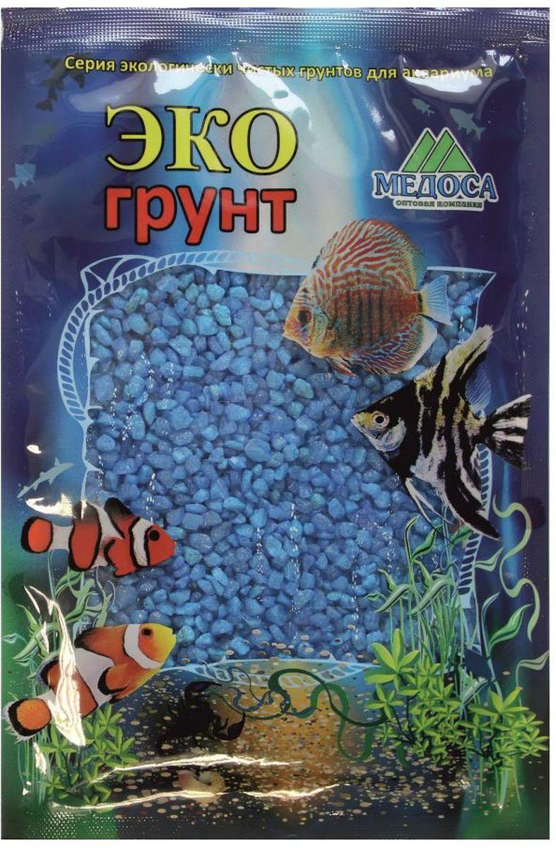 Грунт для аквариума ЭКОгрунт, мраморная крошка, цвет: голубой, 2-5 мм, 1 кг. 500030500030Грунт ЭКОгрунт изготовлен из экологически чистого сырья, откалиброван, промыт и подвергнут термической обработке. Область применения - морскиеи пресноводные аквариумы, полюдариумы, террариумы.