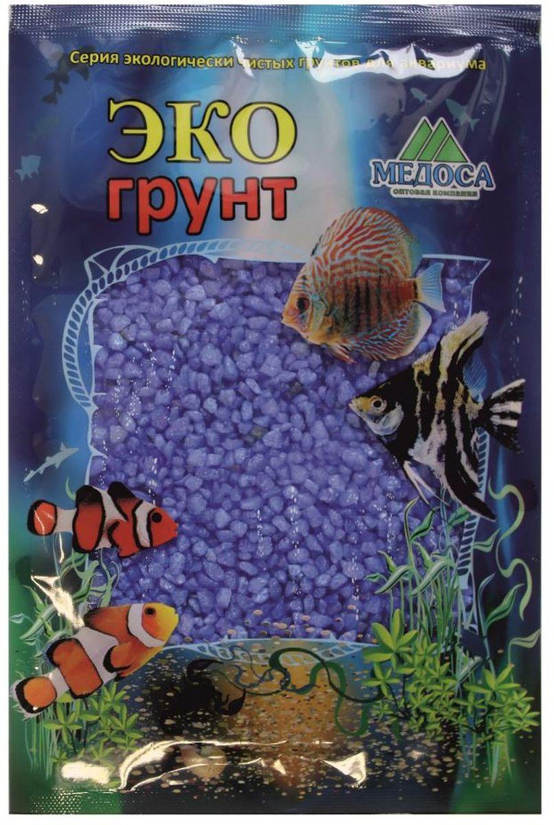 Грунт для аквариума ЭКОгрунт, мраморная крошка, цвет: синий, 2-5 мм, 1 кг. 500031500031Грунт ЭКОгрунт изготовлен из экологически чистого сырья, откалиброван, промыт и подвергнут термической обработке. Область применения - морскиеи пресноводные аквариумы, полюдариумы, террариумы.