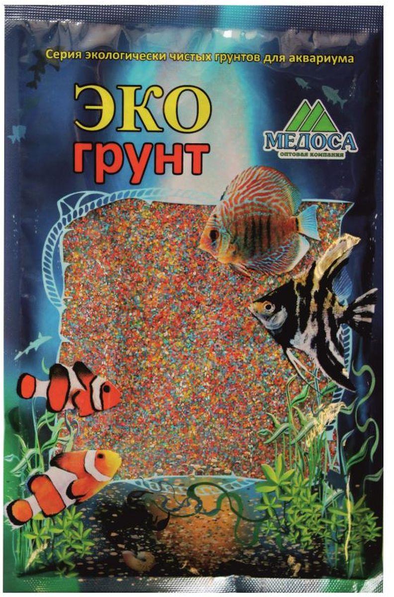"""Грунт для аквариума """"ЭКОгрунт"""", песок, цвет: микс, 0,5-1 мм, 1 кг"""