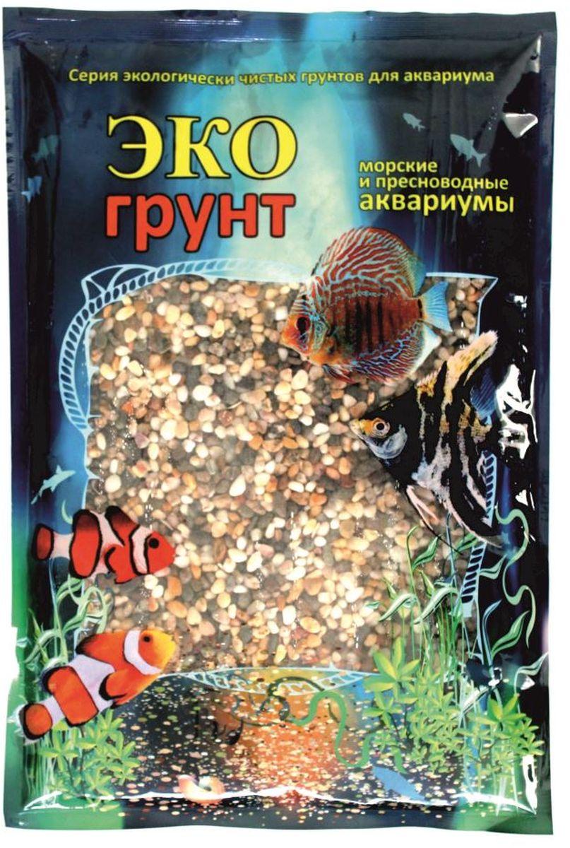"Грунт для аквариума ЭКОгрунт ""Феодосия №0"", галька, 1-3 мм, 3,5 кг. г-0021"